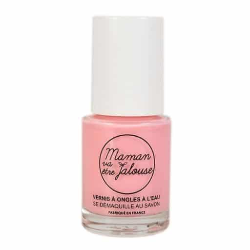 Vernis à ongles à l'eau rose pour petite fille - Maman va être jalouse
