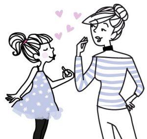 Gamme de maquillage pour petite fille