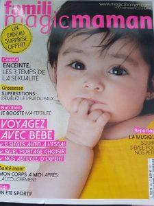 Maman va être jalouse est dans le magazine Famili Magic Maman