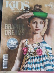 Maman va être jalouse est dans Kids Magazine
