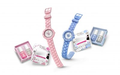 Quand l'horlogerie et les cosmétiques s'unissent, c'est toujours pour le bonheur des enfants!