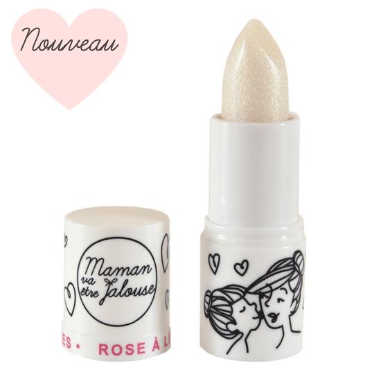 Rose à lèvres féérique petite fille