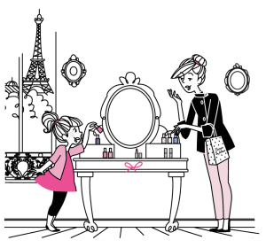 Produits cosmétiques mère-fille - Maman va être Jalouse
